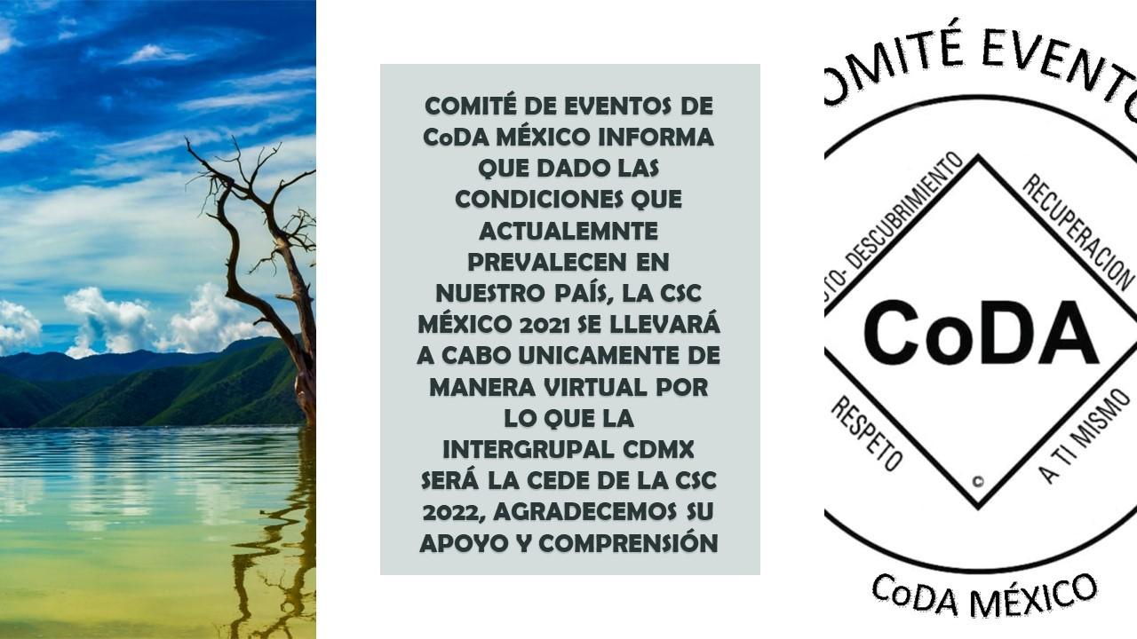Conferencia y convención Nacional México 2021